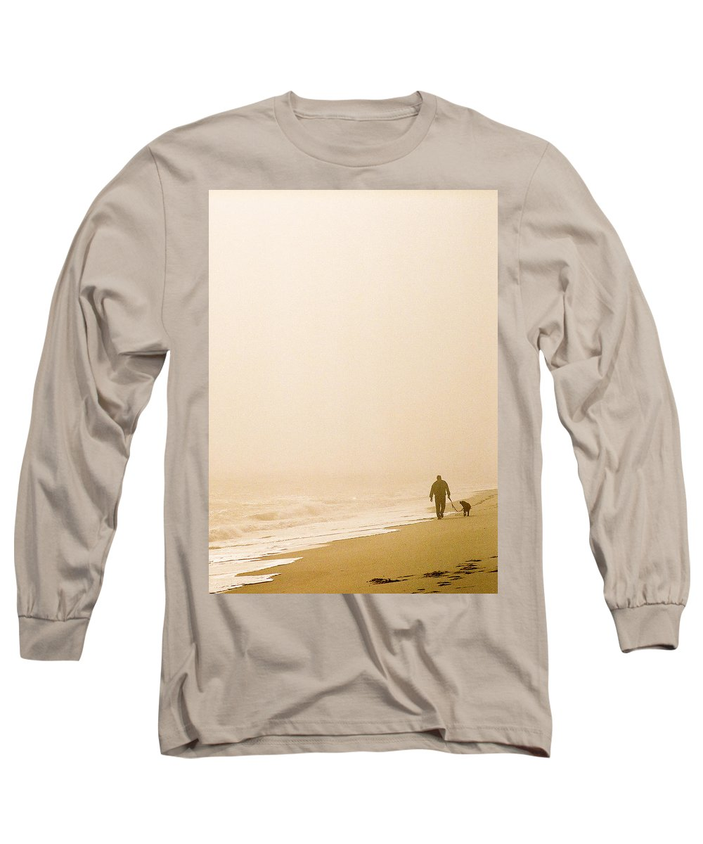 Landscape Long Sleeve T-Shirt featuring the photograph Out Of The Mist by Steve Karol