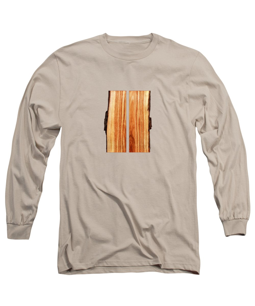 Block Long Sleeve T-Shirt featuring the photograph Parallel Wood by YoPedro