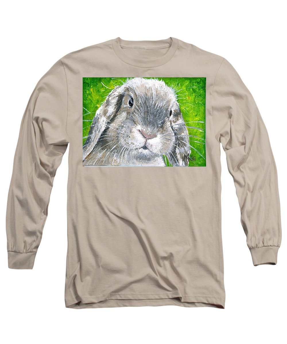 Charity Long Sleeve T-Shirt featuring the painting Parsnip by Mary-Lee Sanders