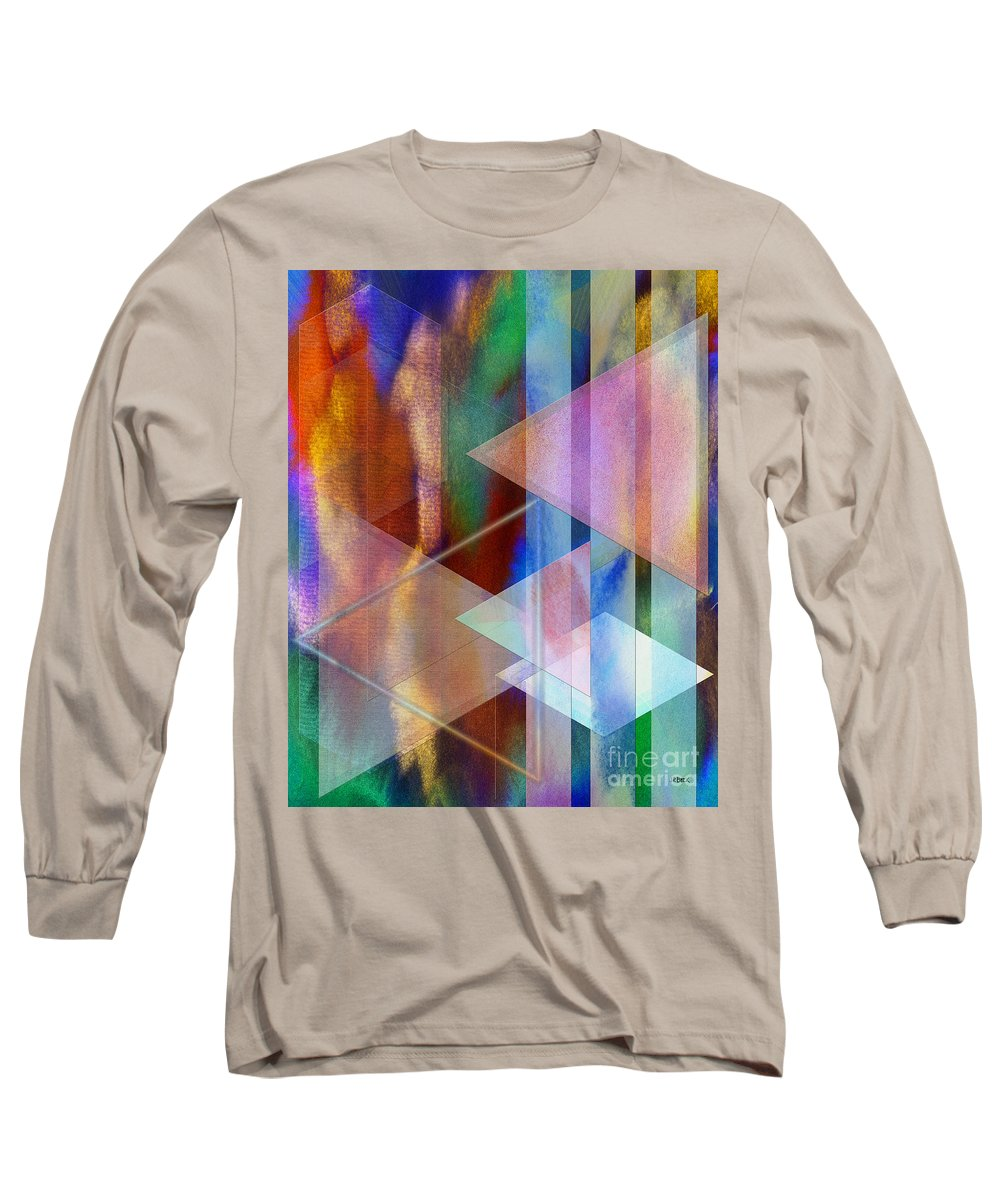 Pastoral Midnight Long Sleeve T-Shirt featuring the digital art Pastoral Midnight by John Beck