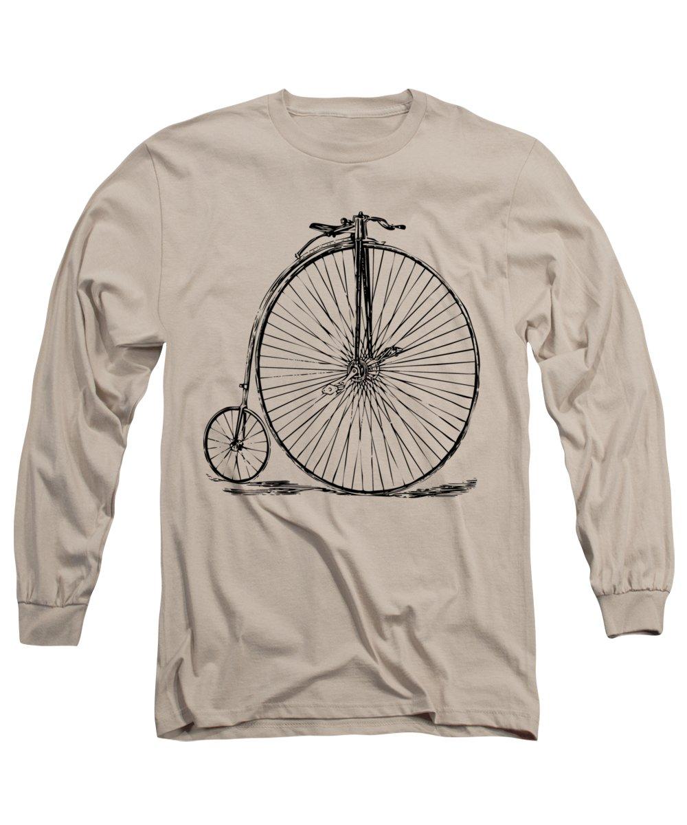 Bicycle Long Sleeve T-Shirts