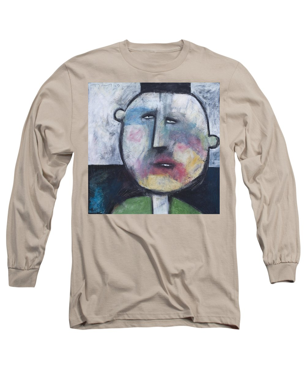 Funny Long Sleeve T-Shirt featuring the painting Pillbox by Tim Nyberg