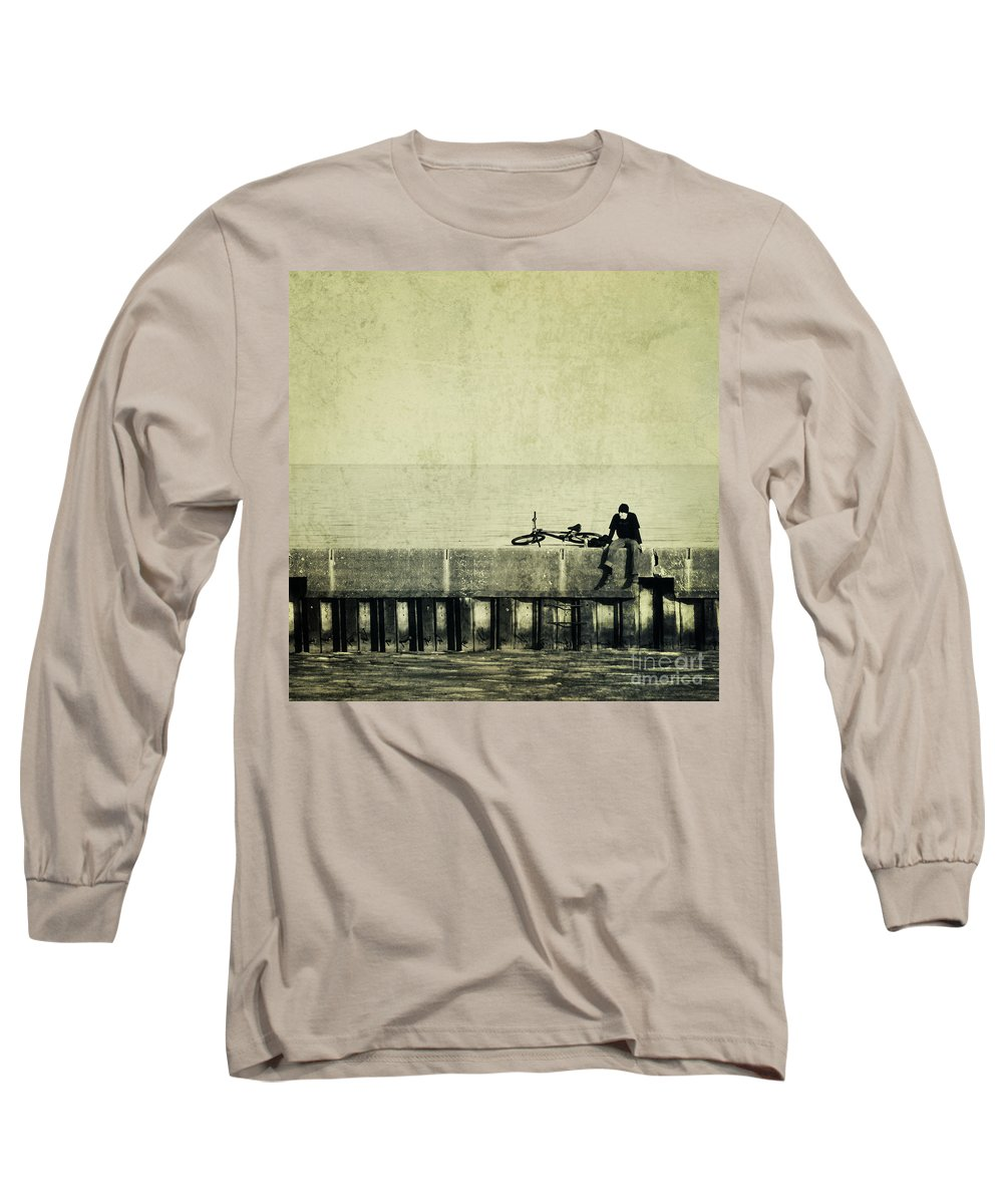 Man Long Sleeve T-Shirt featuring the photograph Praying To A God I Dont Believe In by Dana DiPasquale