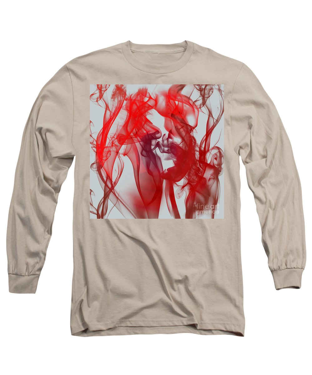 Clay Long Sleeve T-Shirt featuring the digital art Red Alert by Clayton Bruster