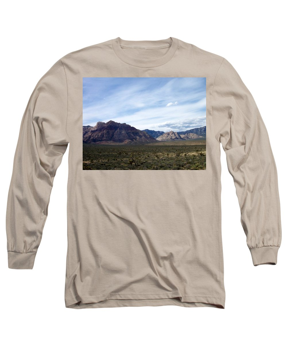 Red Rock Canyon Long Sleeve T-Shirt featuring the photograph Red Rock Canyon 4 by Anita Burgermeister
