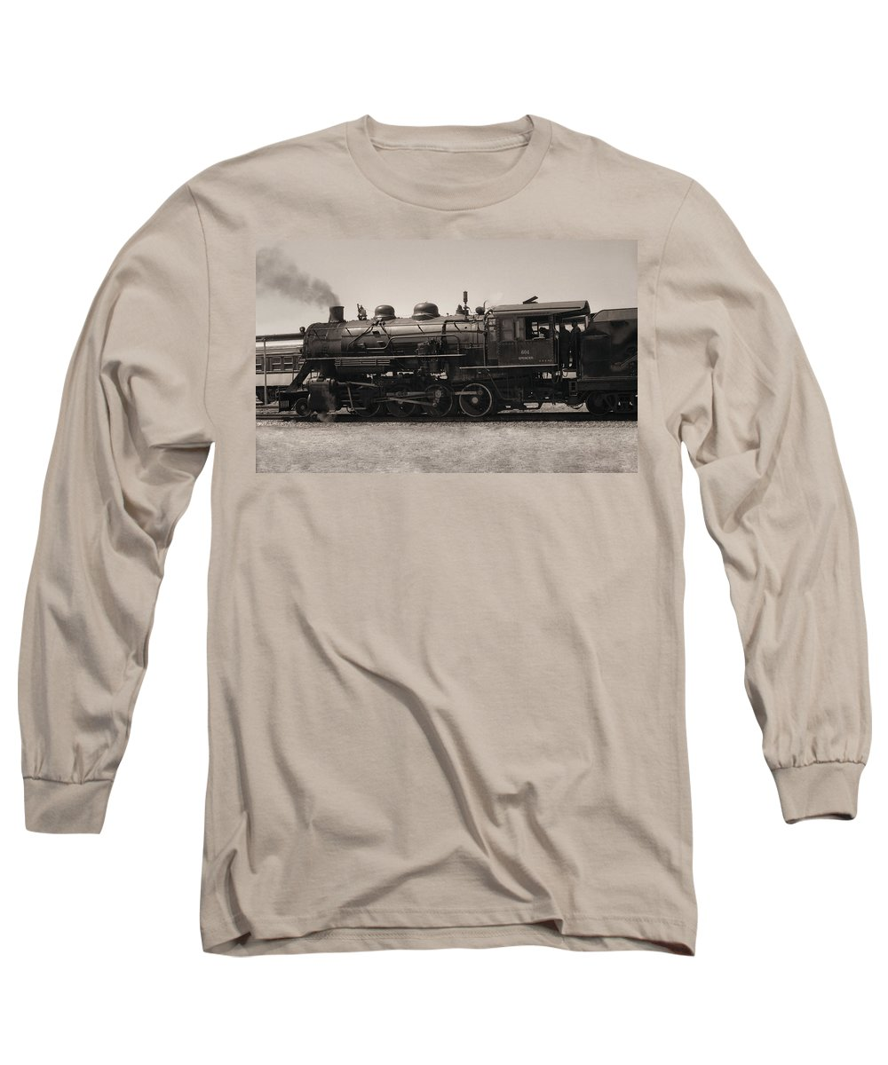 Americana Long Sleeve T-Shirt featuring the photograph Reverse Throttle by Richard Rizzo