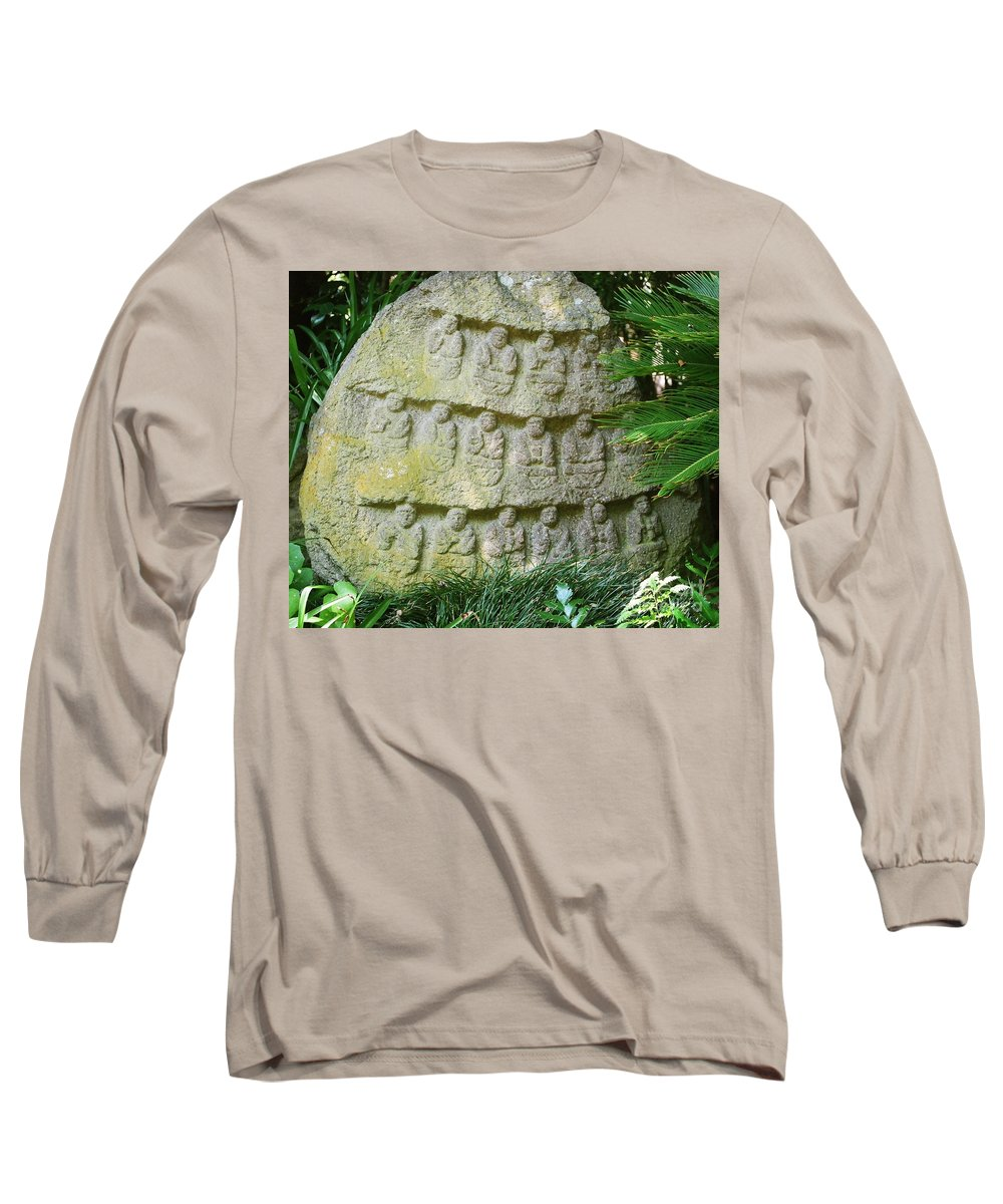 Stone Long Sleeve T-Shirt featuring the photograph Sacred Stone by Dean Triolo