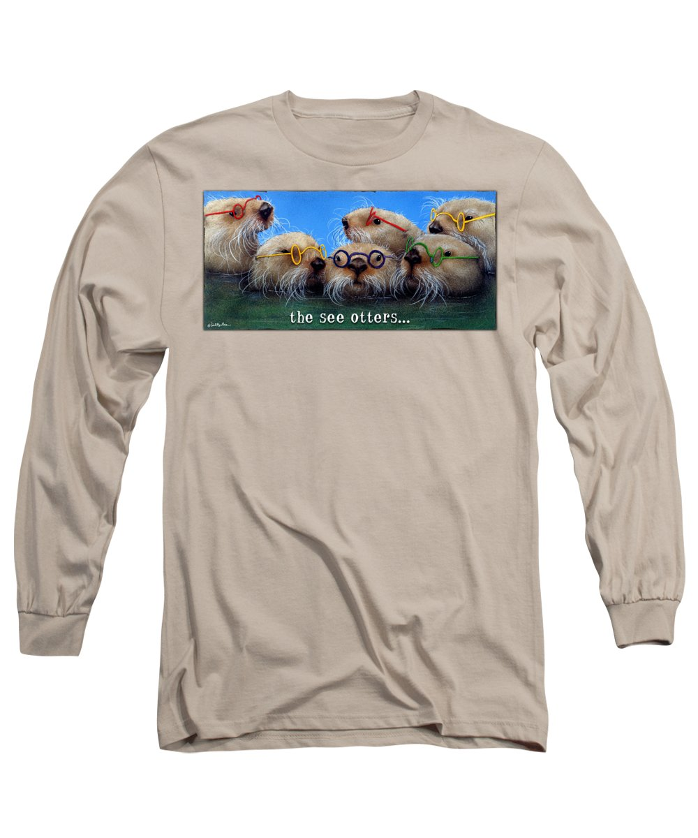Otter Long Sleeve T-Shirts