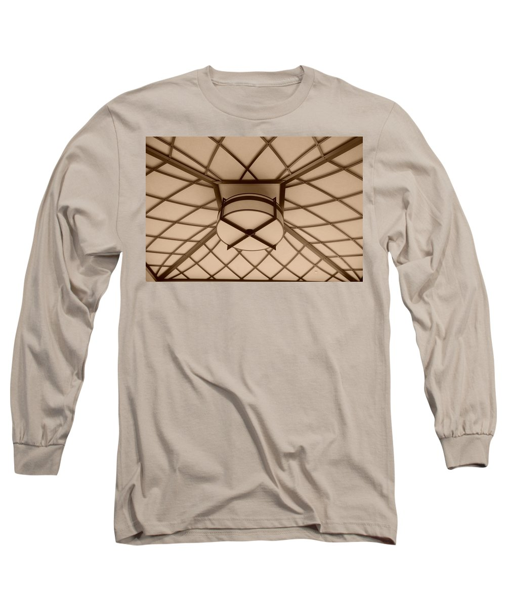 Sepia Long Sleeve T-Shirt featuring the photograph Sepia Lighted Box by Rob Hans