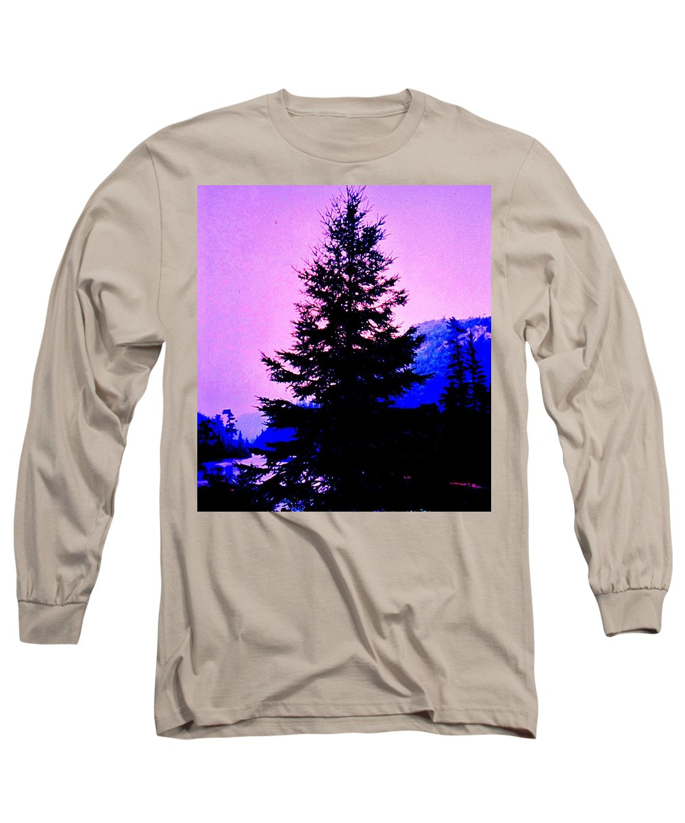 Agawa Long Sleeve T-Shirt featuring the photograph Shadows In The Canyon by Ian MacDonald