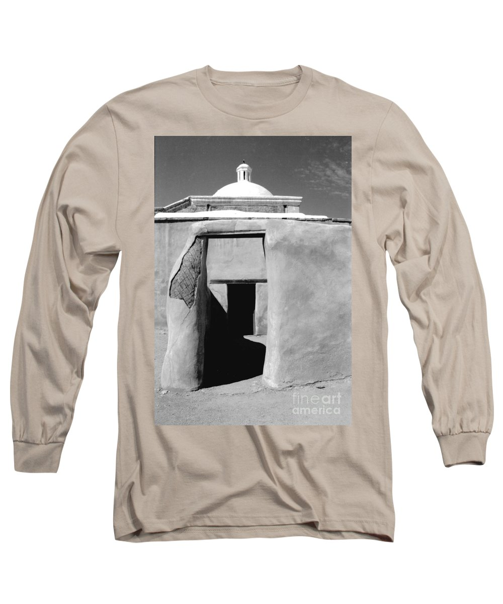 Shadows Long Sleeve T-Shirt featuring the photograph Sol Y Sombra by Kathy McClure