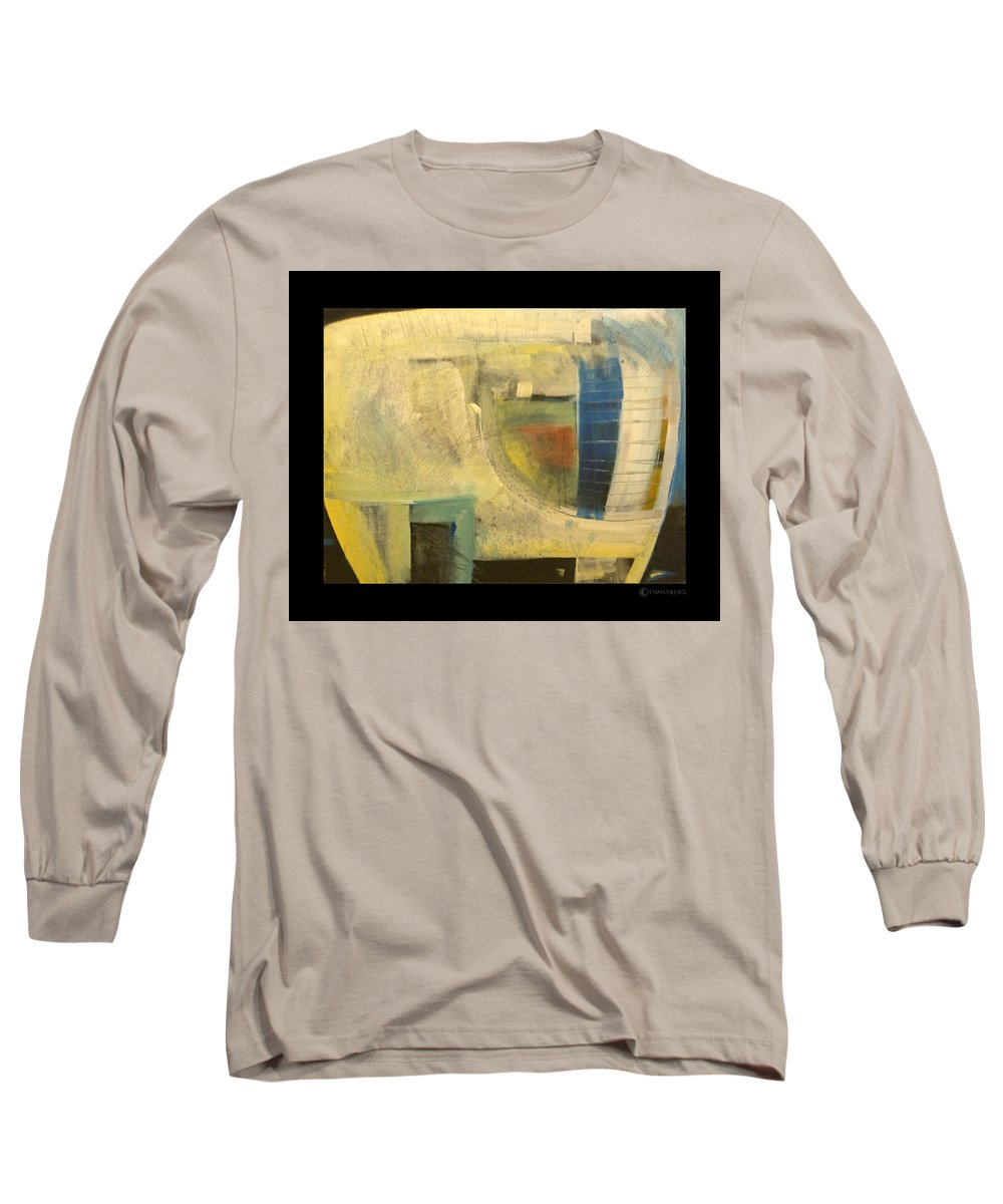Dog Long Sleeve T-Shirt featuring the painting Space Dog by Tim Nyberg