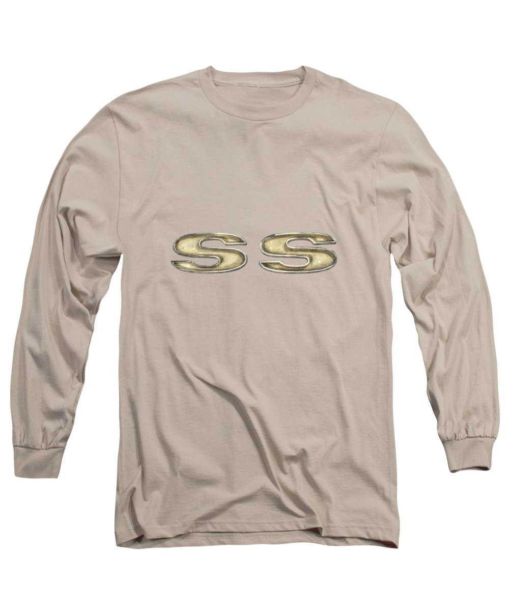 Antique Toy Long Sleeve T-Shirt featuring the photograph Super Sport Emblem by YoPedro