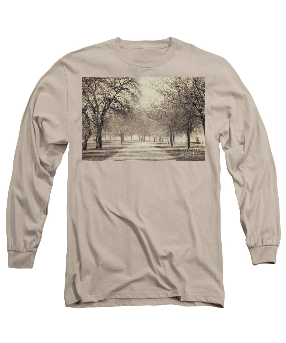 Trees Long Sleeve T-Shirt featuring the photograph Stand Where I Stood by Dana DiPasquale