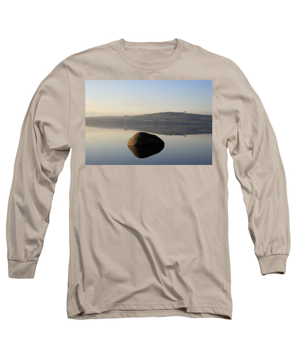 Landscape Long Sleeve T-Shirt featuring the photograph Stone Egg by Phil Crean