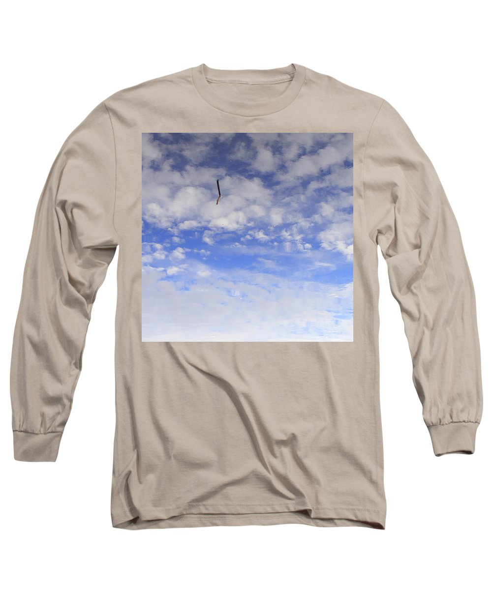 Sky Long Sleeve T-Shirt featuring the photograph Stuck In The Clouds by Ed Smith