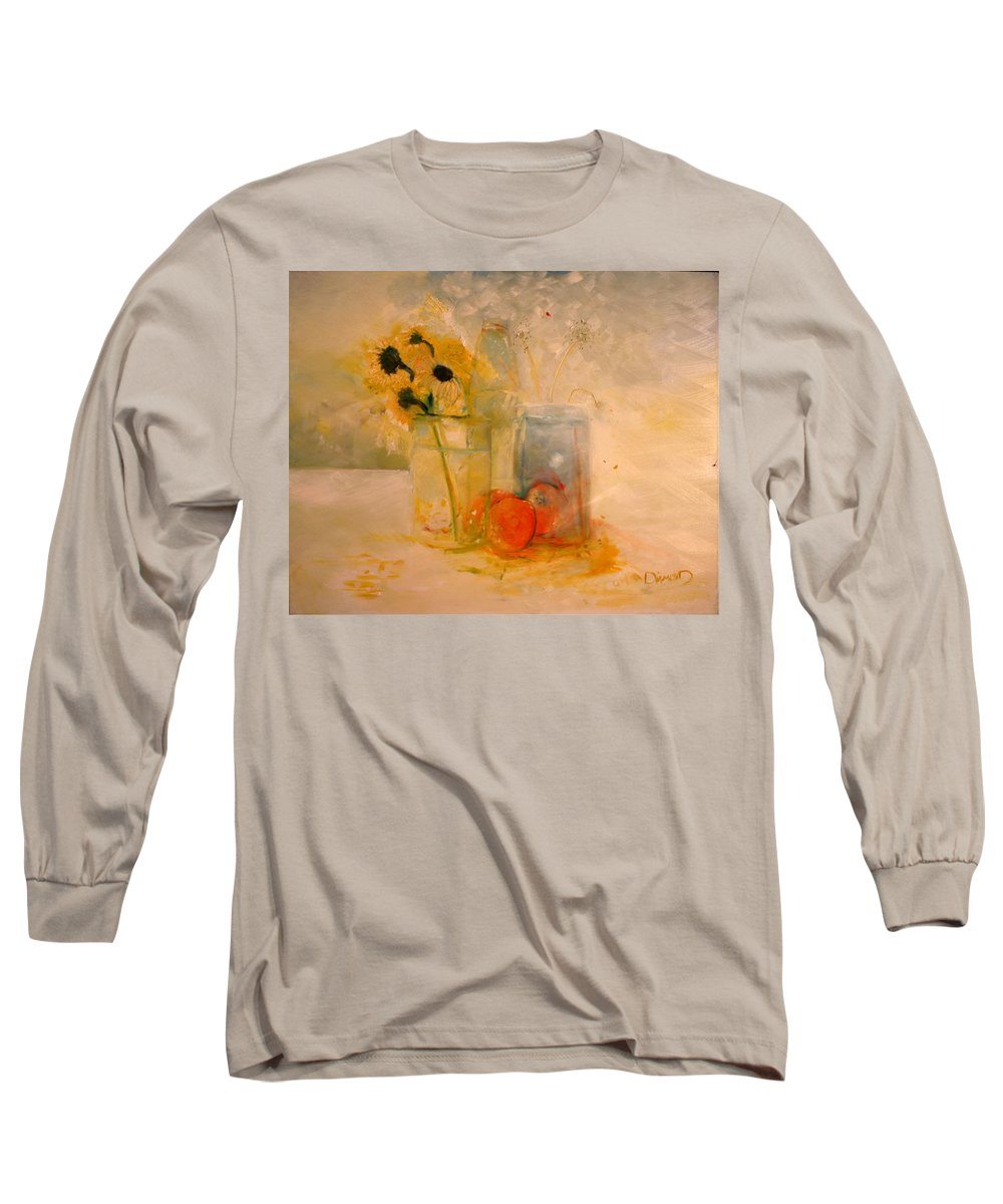 Daisey Long Sleeve T-Shirt featuring the painting Summer Light by Jack Diamond