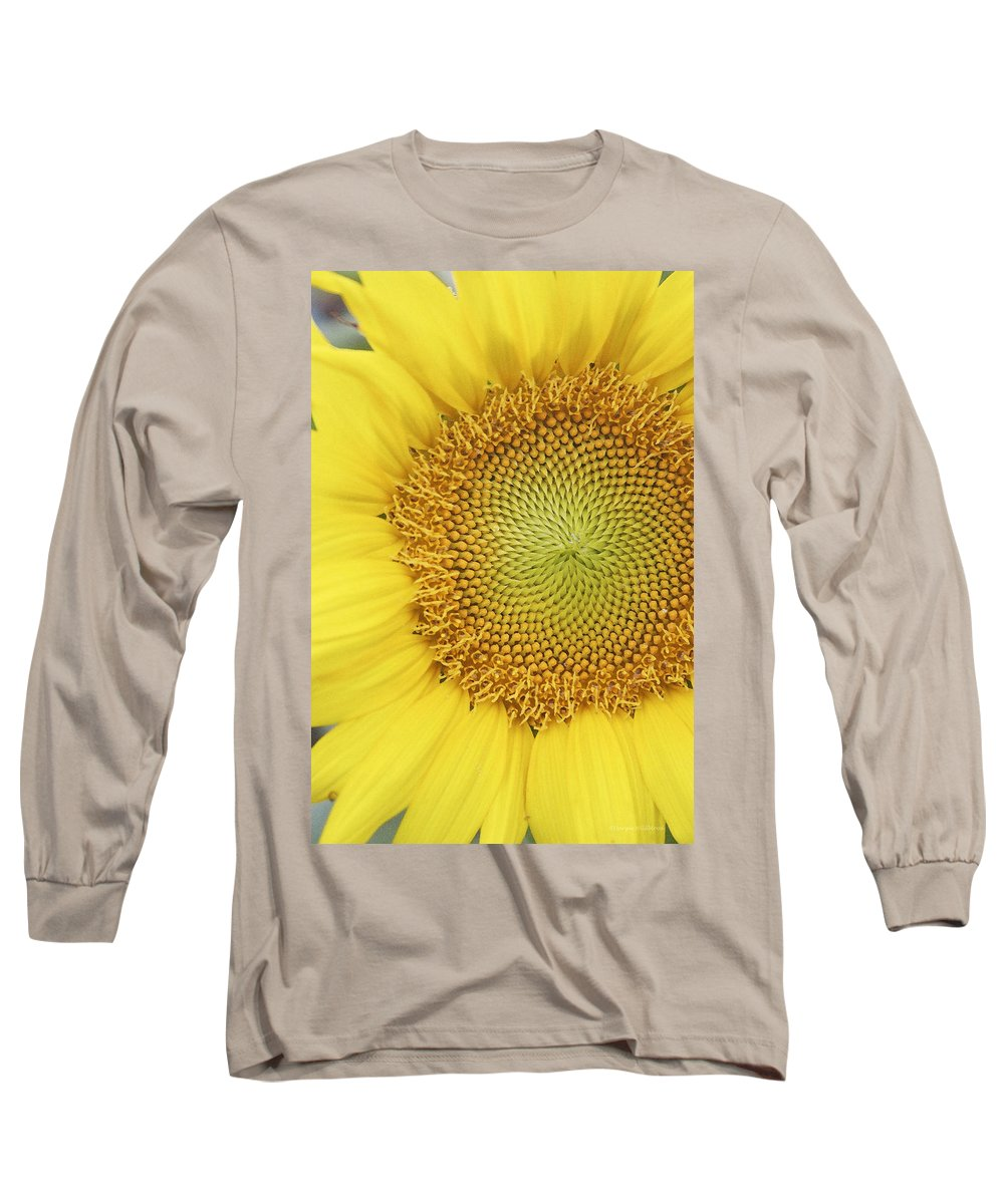Sunflower Long Sleeve T-Shirt featuring the photograph Sunflower by Margie Wildblood