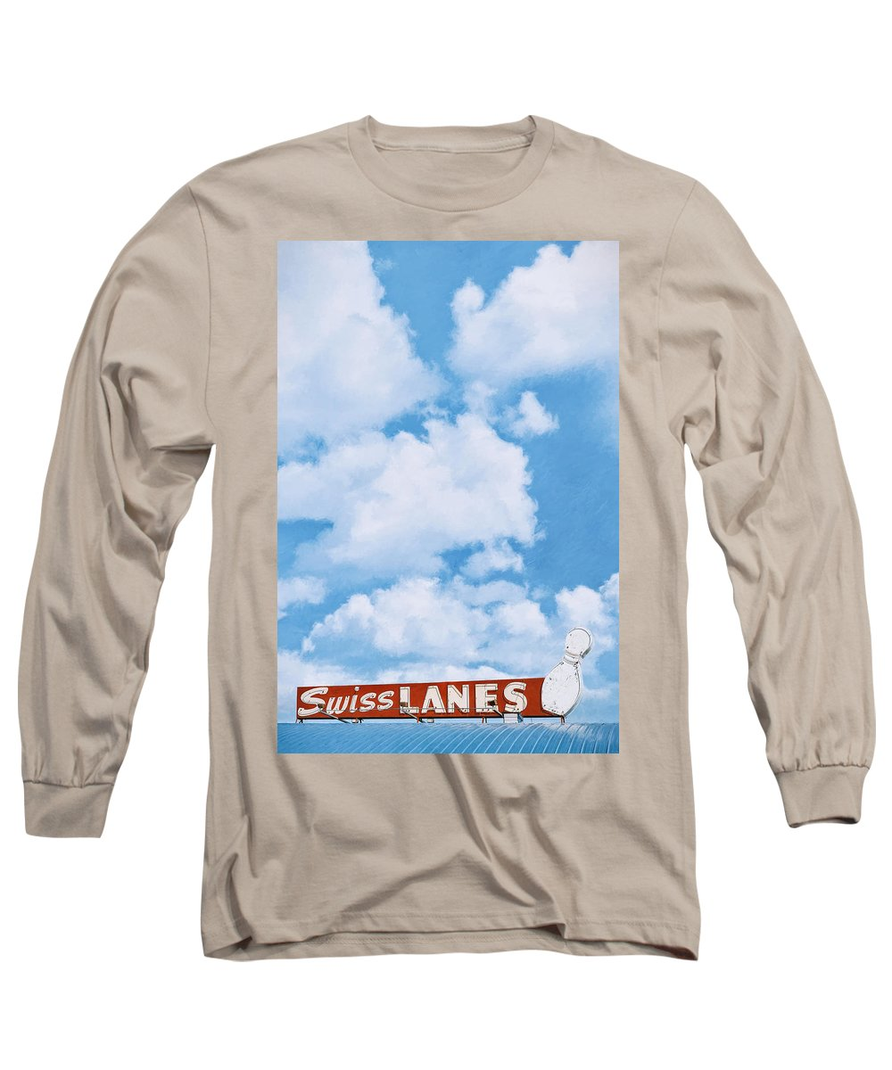 Architecture Long Sleeve T-Shirt featuring the photograph Swiss Lanes by Scott Norris