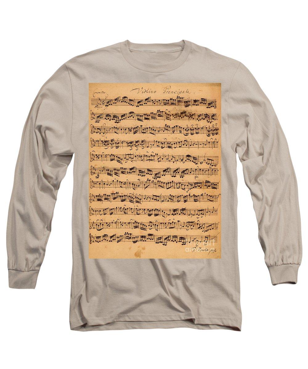 Baroque Drawings Long Sleeve T-Shirts