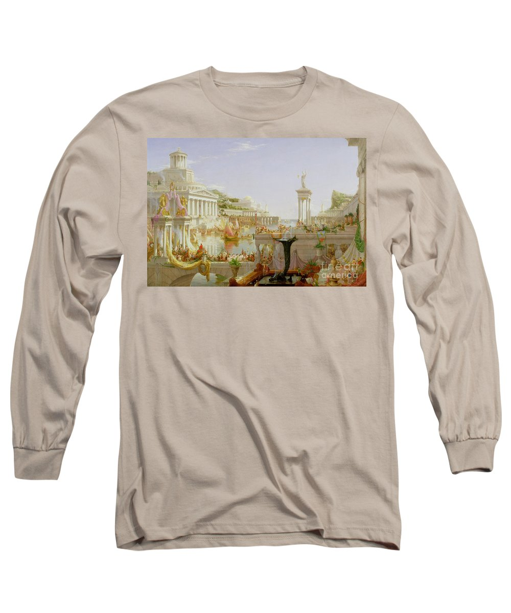 Ionic Columns Long Sleeve T-Shirts