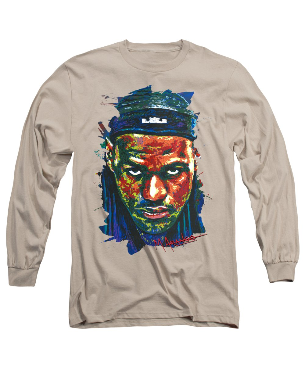 Lebron James Long Sleeve T-Shirts