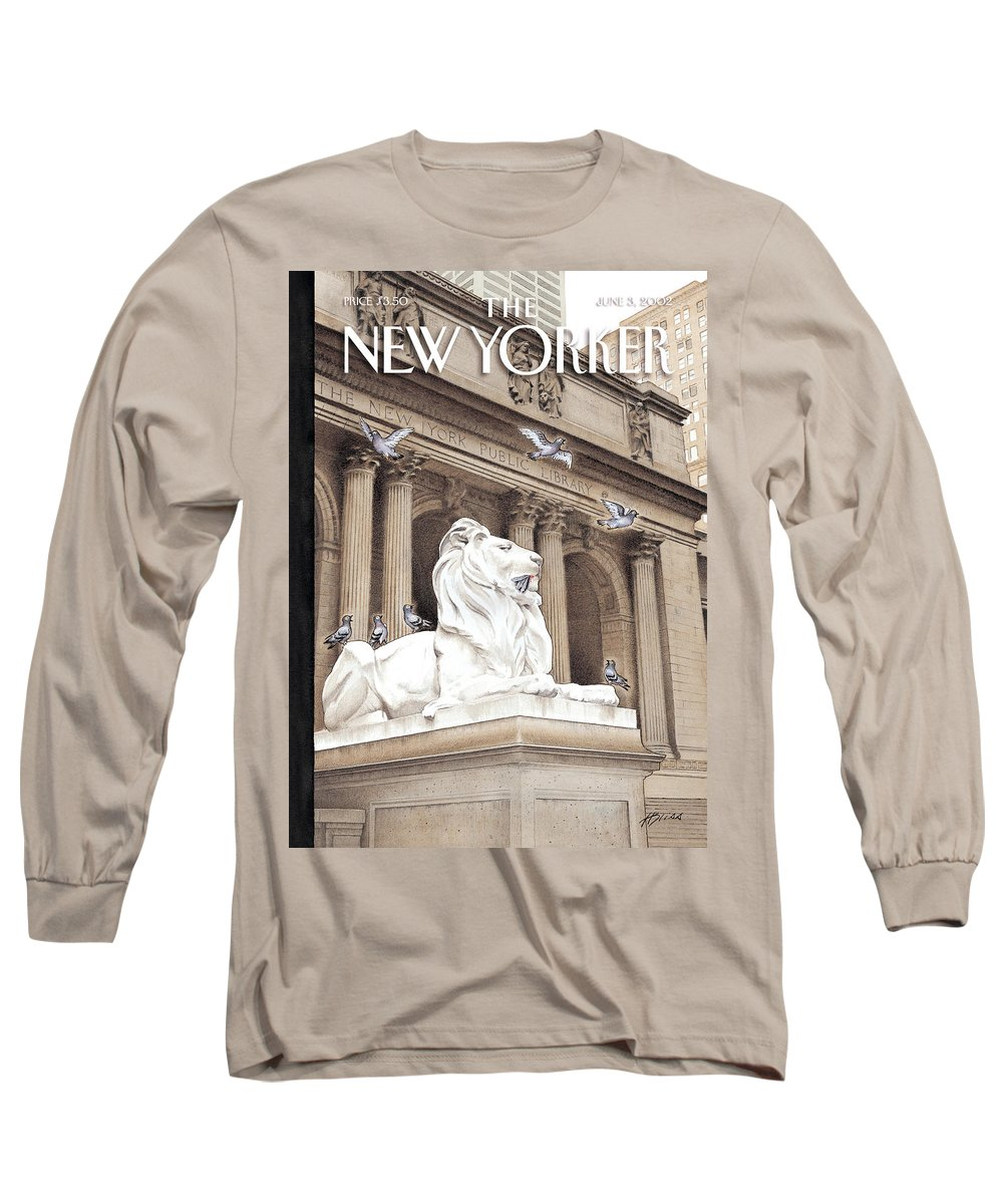 New Long Sleeve T-Shirt featuring the photograph It Is A Jungle Out There by Harry Bliss