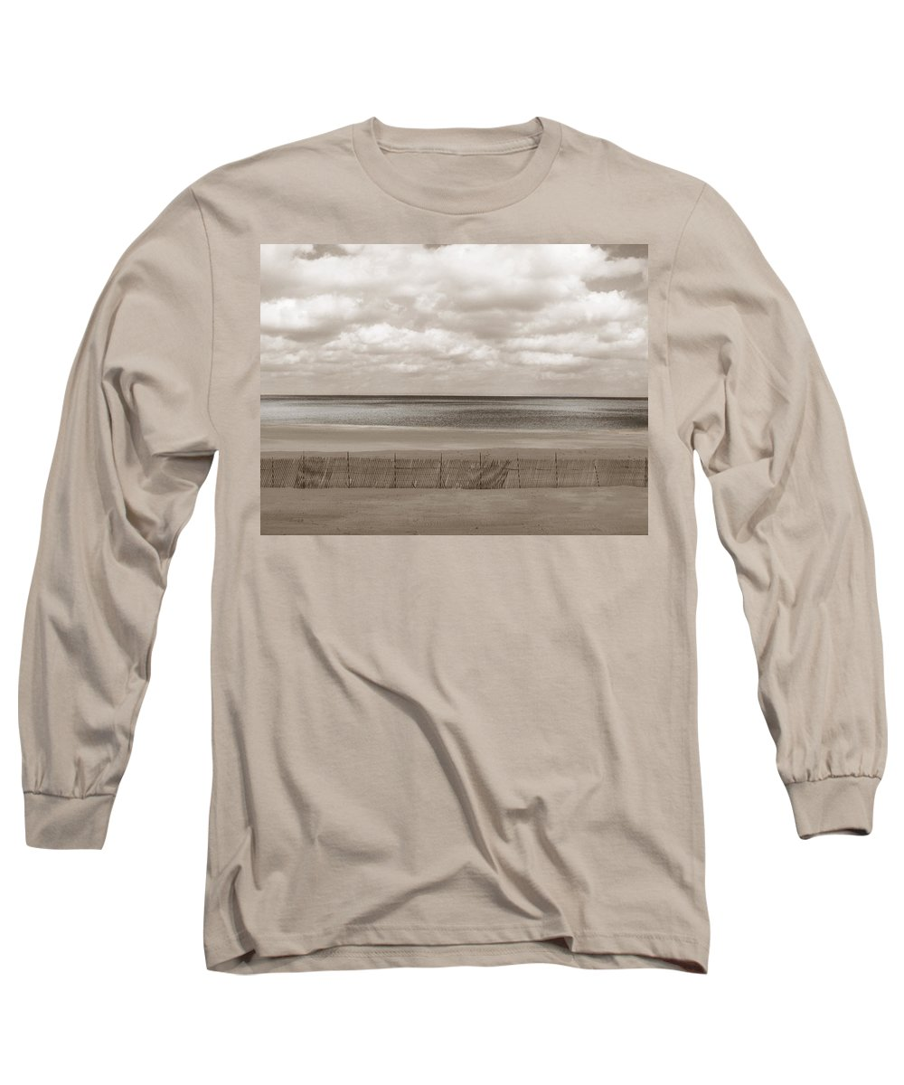 Ocean Long Sleeve T-Shirt featuring the photograph The Perfect Sky Is Torn by Dana DiPasquale