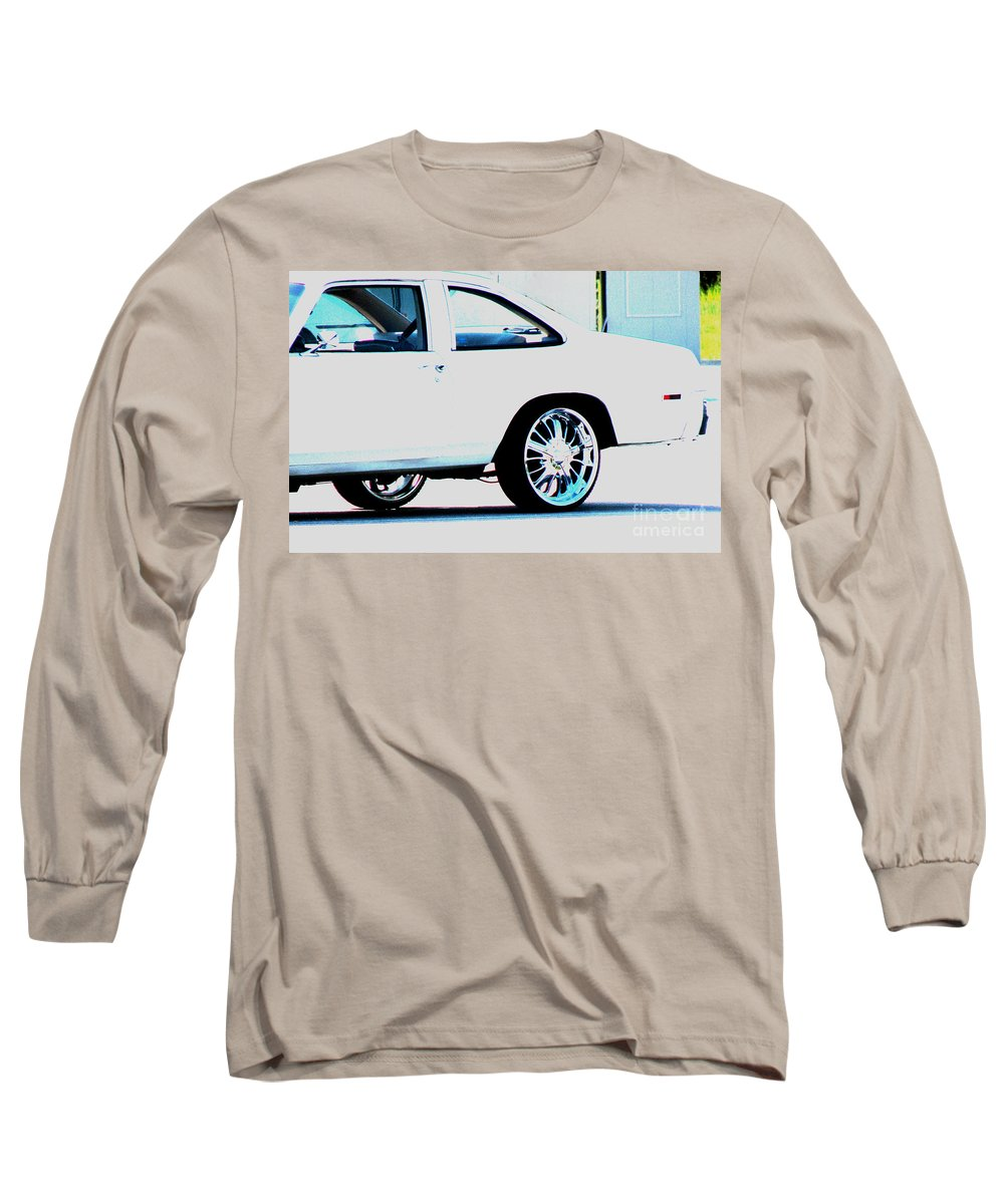 Car Long Sleeve T-Shirt featuring the photograph The Ride by Amanda Barcon