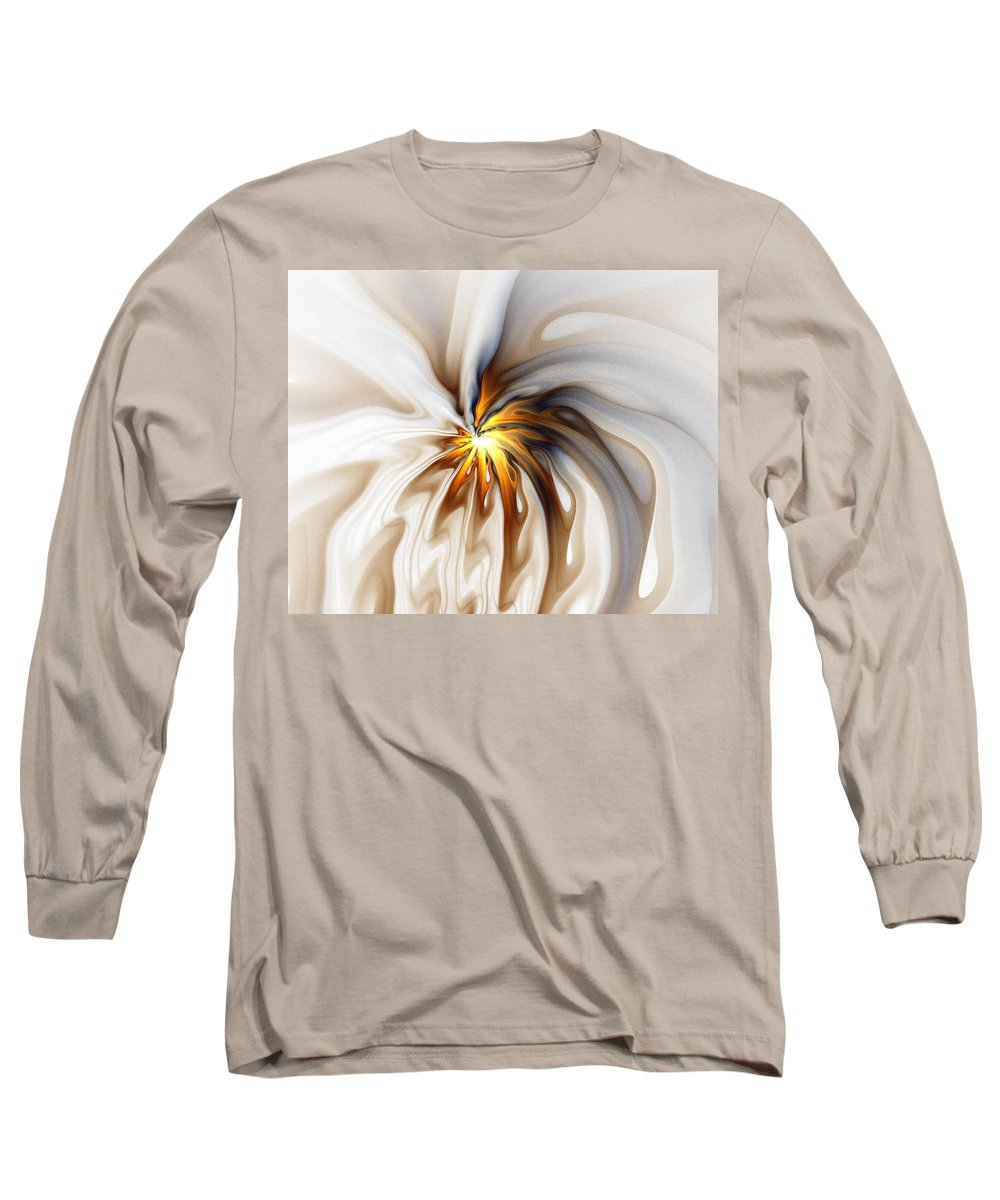 Digital Art Long Sleeve T-Shirt featuring the digital art This Too Will Pass... by Amanda Moore
