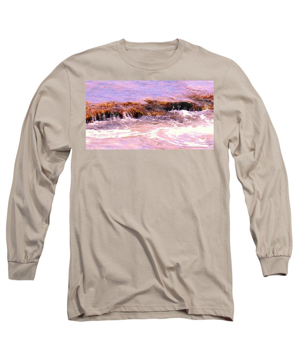 Tide Long Sleeve T-Shirt featuring the photograph Tidal Pool by Ian MacDonald
