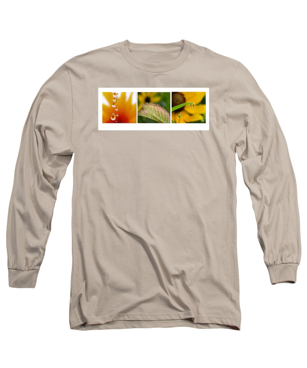 Dew Long Sleeve T-Shirt featuring the photograph Tiny Miracles by Linda Murphy