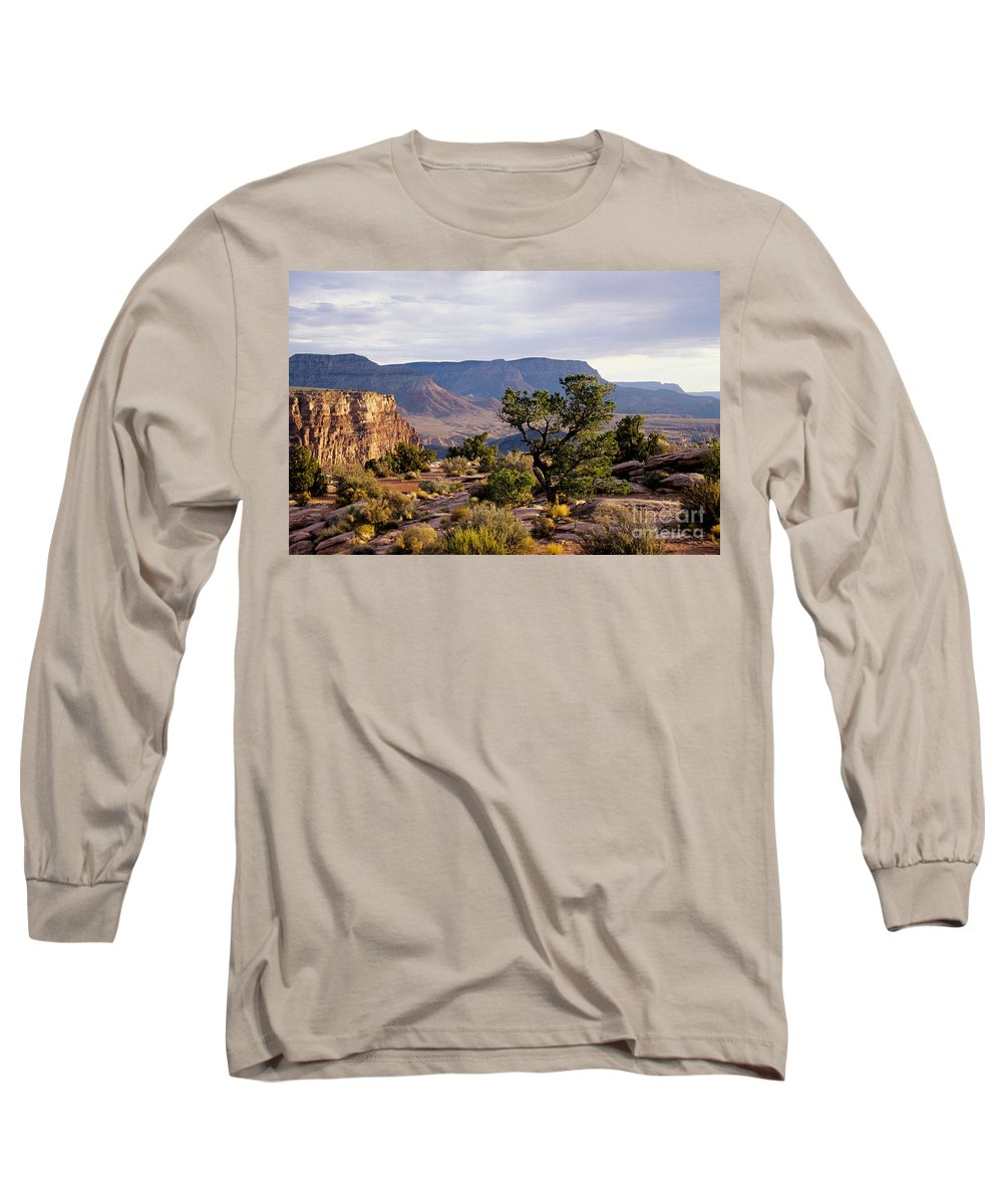 Arizona Long Sleeve T-Shirt featuring the photograph Toroweap by Kathy McClure