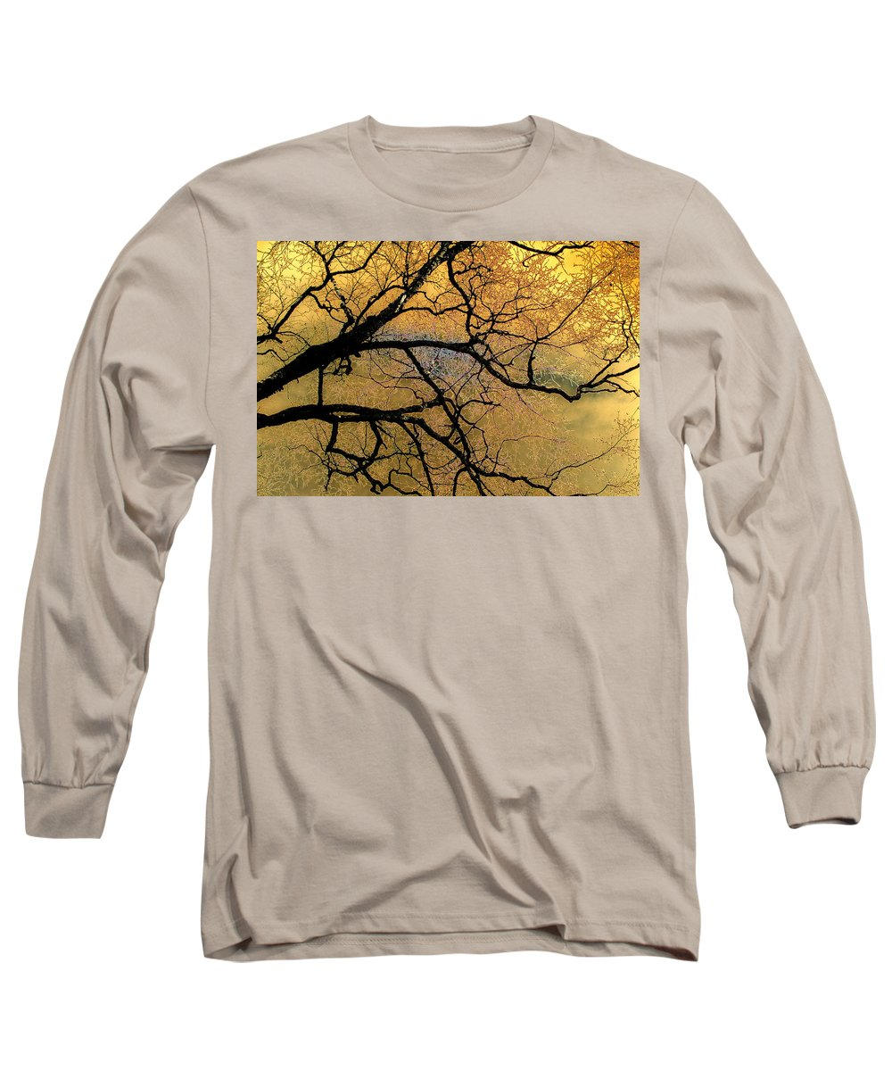 Scenic Long Sleeve T-Shirt featuring the photograph Tree Fantasy 7 by Lee Santa