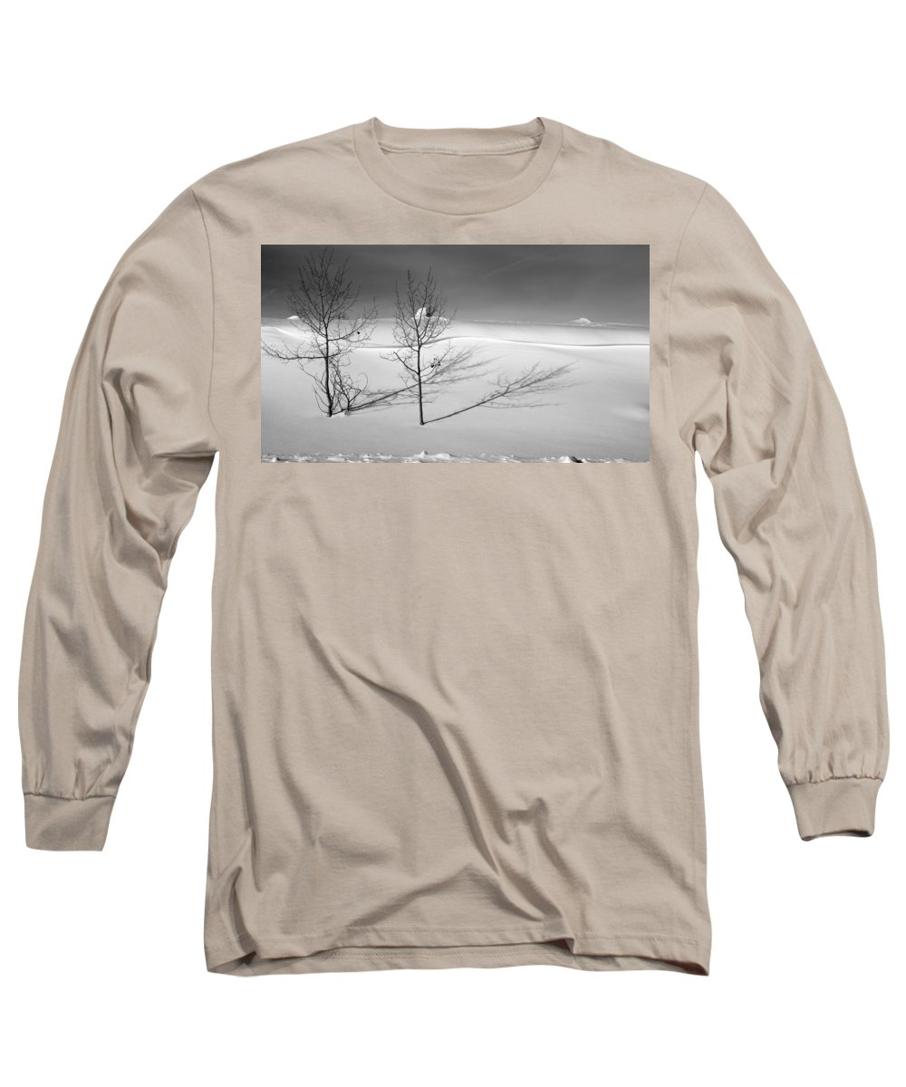Nature Long Sleeve T-Shirt featuring the photograph Twins by Skip Hunt