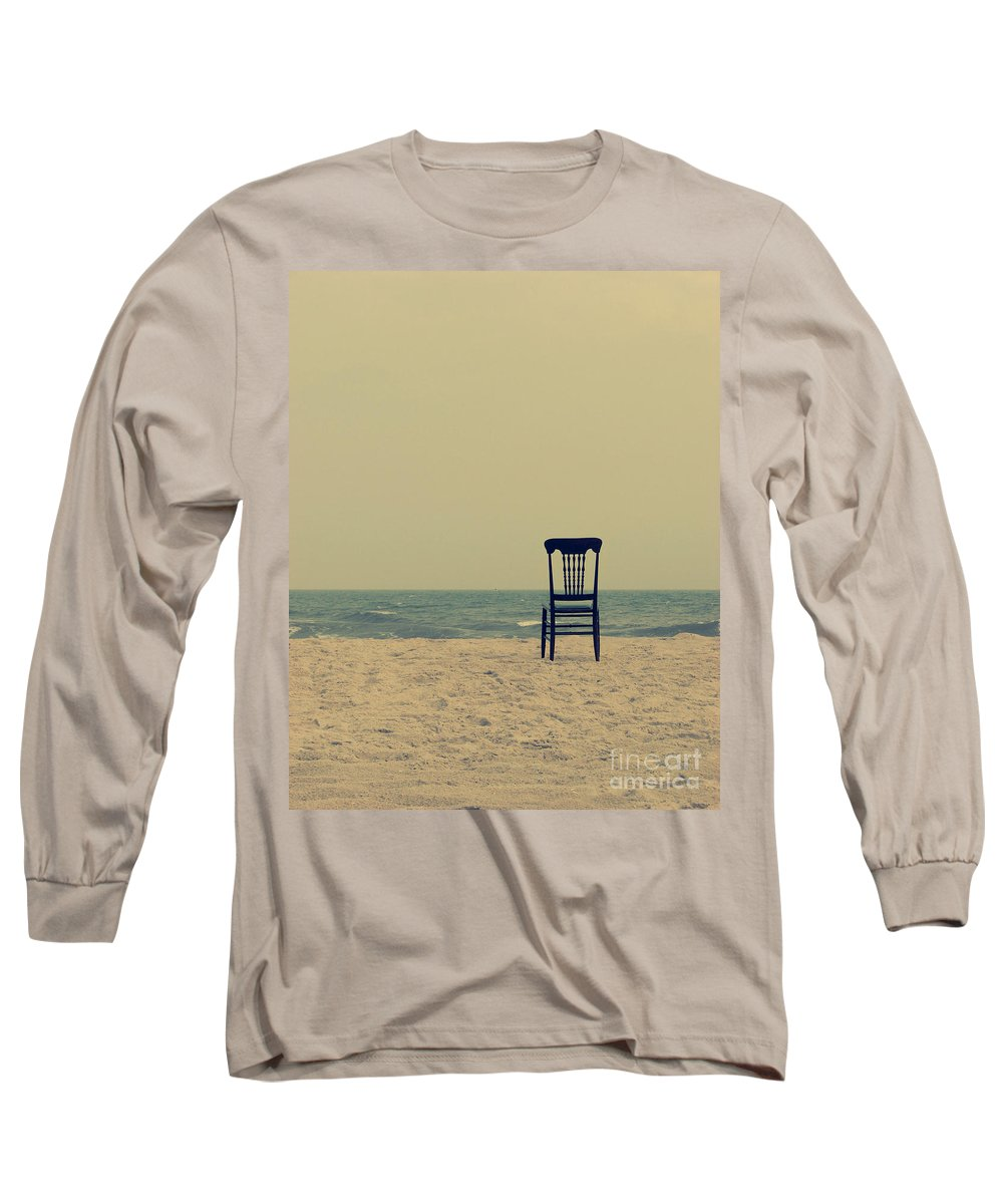 Ocean Long Sleeve T-Shirt featuring the photograph Until Tomorrow And Tomorrow And Tomorrow by Dana DiPasquale