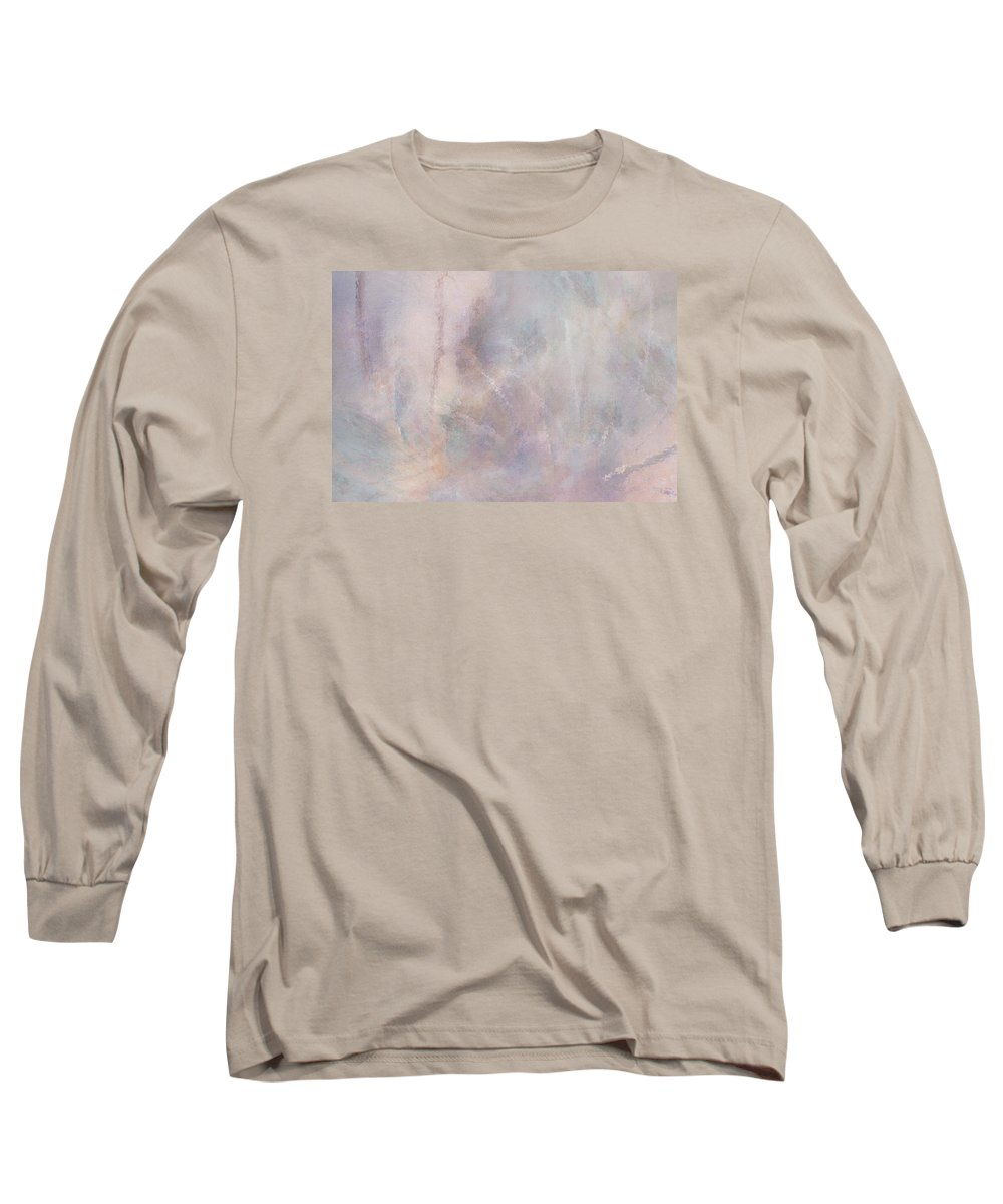 Digital Art Long Sleeve T-Shirt featuring the digital art Vanishing Act by Linda Murphy