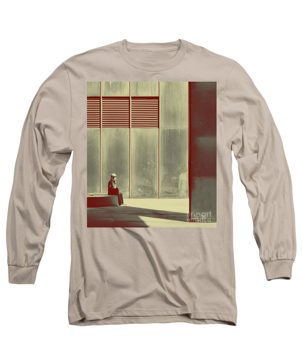 Alone Long Sleeve T-Shirt featuring the photograph When Shes Gone by Dana DiPasquale