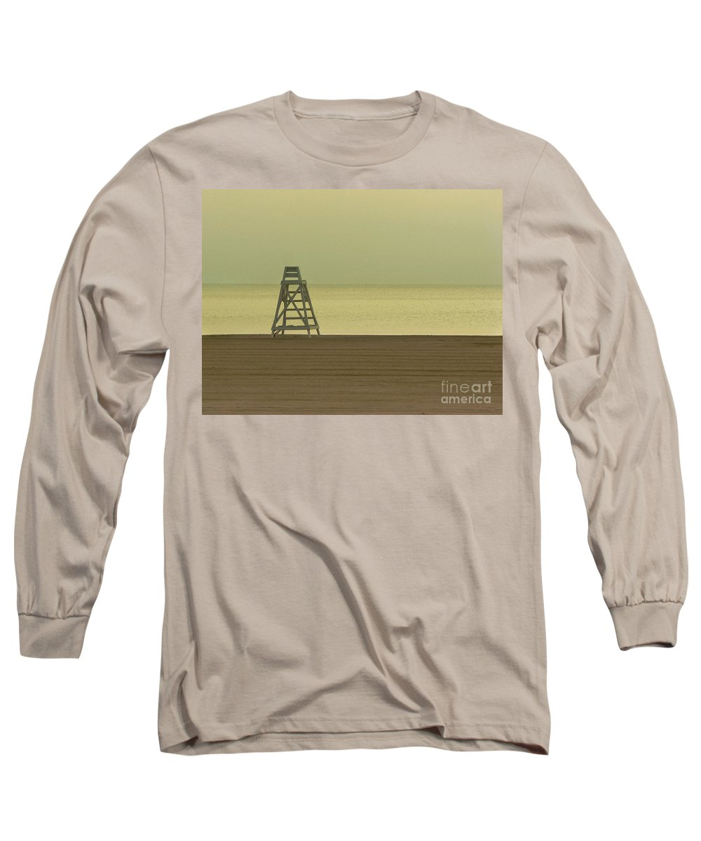Beach Long Sleeve T-Shirt featuring the photograph Will You Lay Here With Me And Just Forget The World by Dana DiPasquale