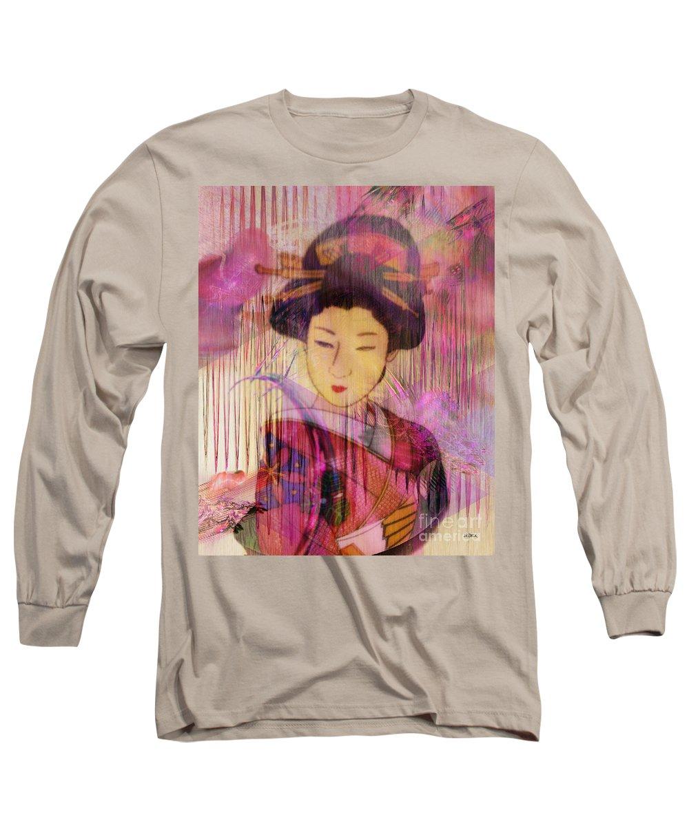 Willow World Long Sleeve T-Shirt featuring the digital art Willow World by John Beck