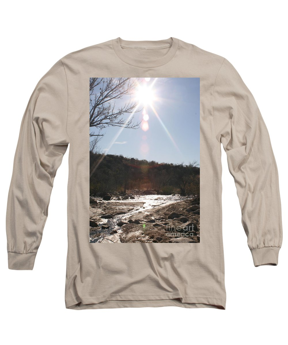 Winter Long Sleeve T-Shirt featuring the photograph Winter Light by Nadine Rippelmeyer