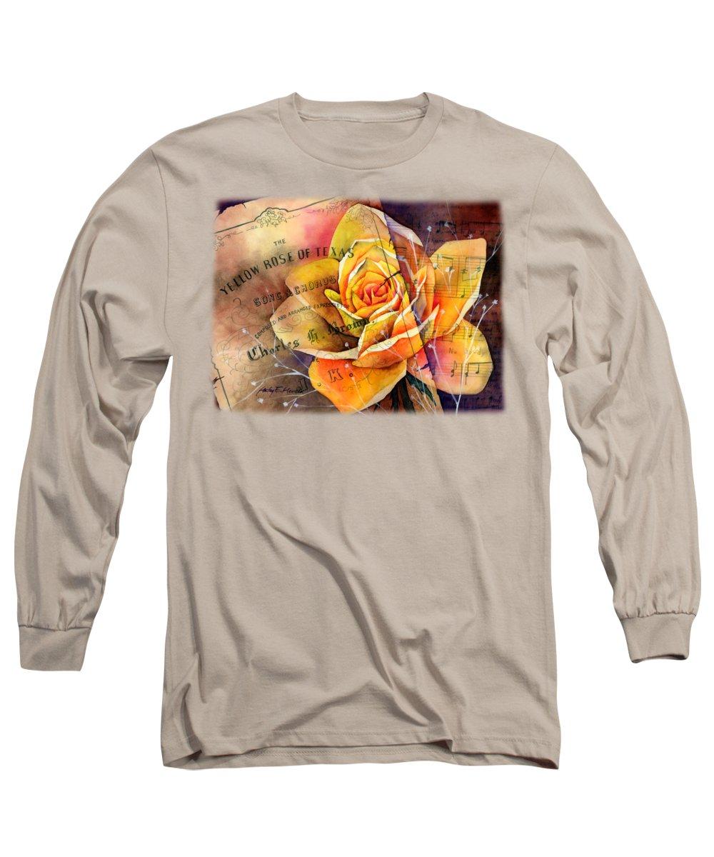 Yellow Flowers Long Sleeve T-Shirts