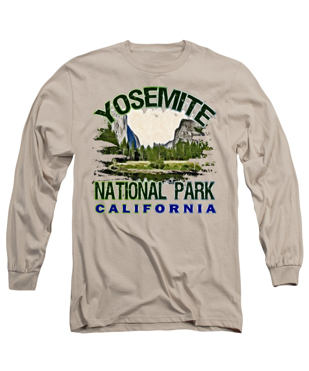 Yosemite National Park Long Sleeve T-Shirts