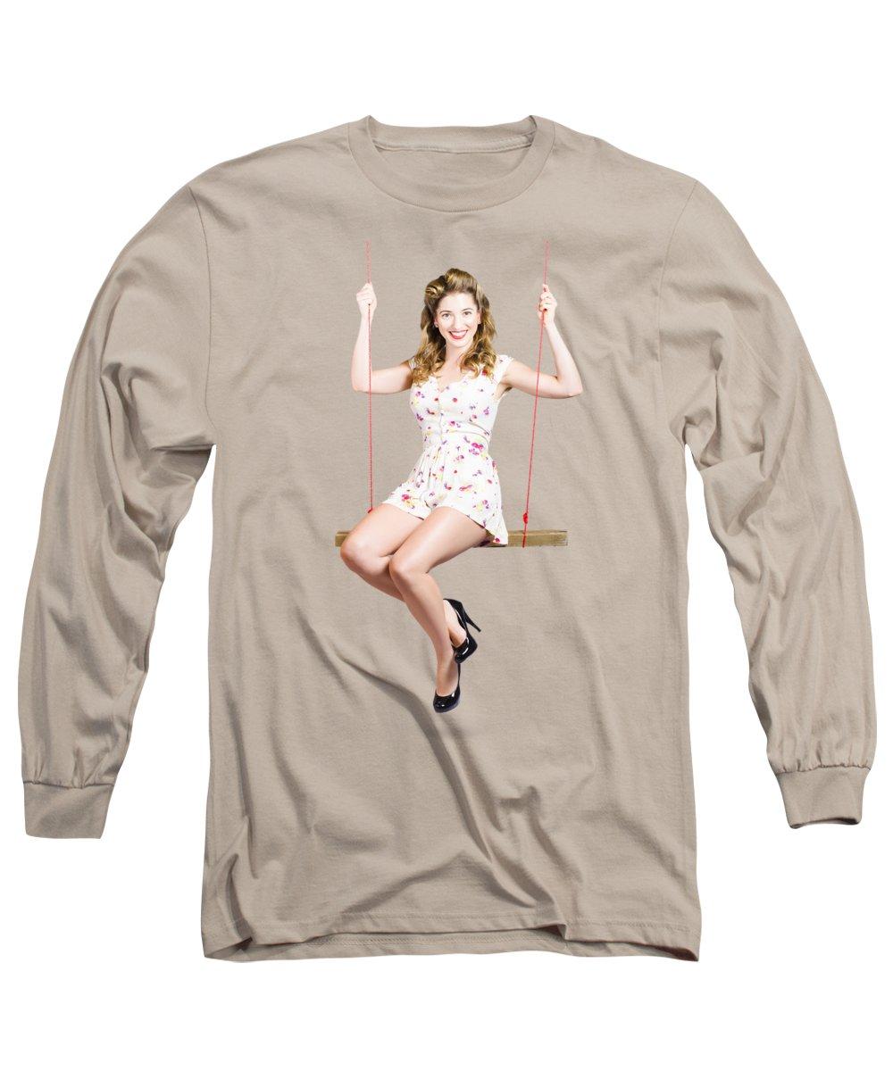 1950s Fashion Long Sleeve T-Shirts