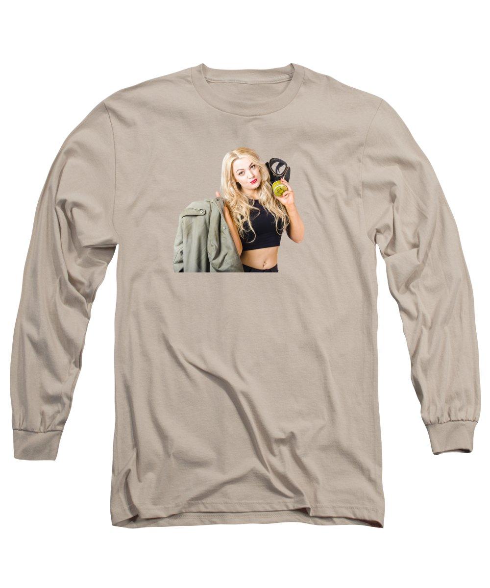 Pensive Long Sleeve T-Shirts