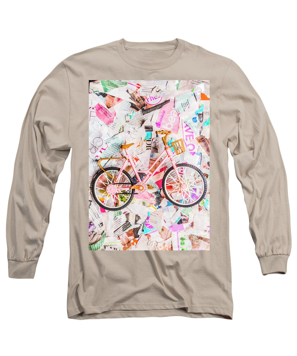 Papergirl Long Sleeve T-Shirt featuring the photograph Mode Of Transport by Jorgo Photography - Wall Art Gallery
