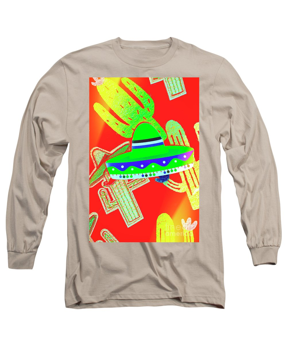 Sombrero Long Sleeve T-Shirt featuring the photograph Sombrero Salsa by Jorgo Photography - Wall Art Gallery