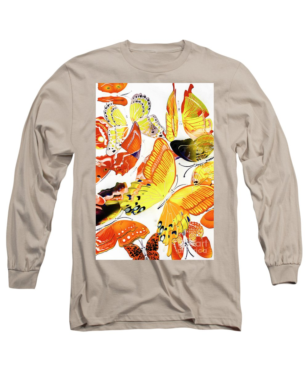 Tropical Long Sleeve T-Shirt featuring the photograph Summers Design by Jorgo Photography - Wall Art Gallery