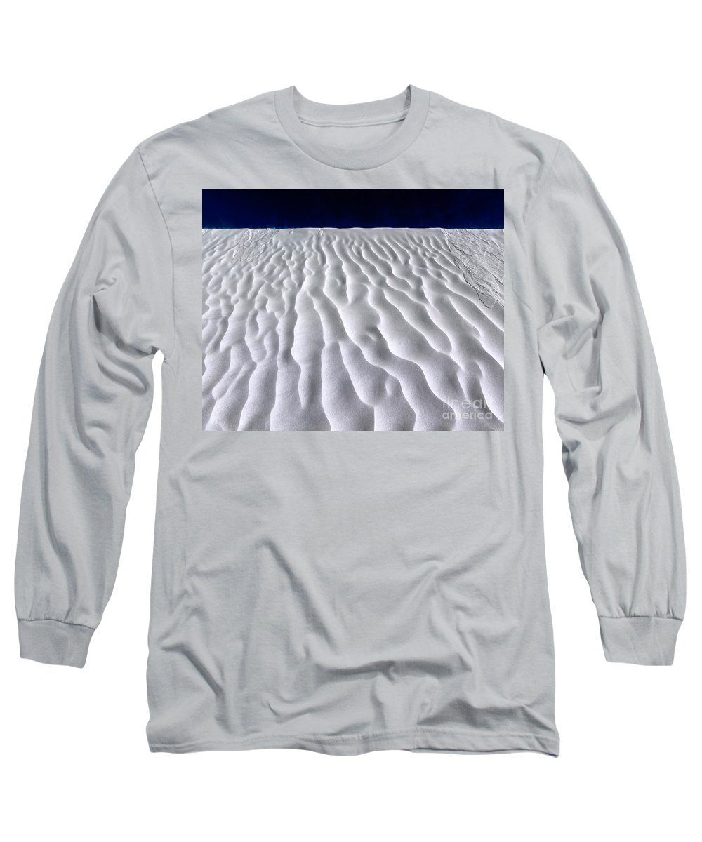 White Sands Long Sleeve T-Shirt featuring the photograph White Sands by Julian Cook