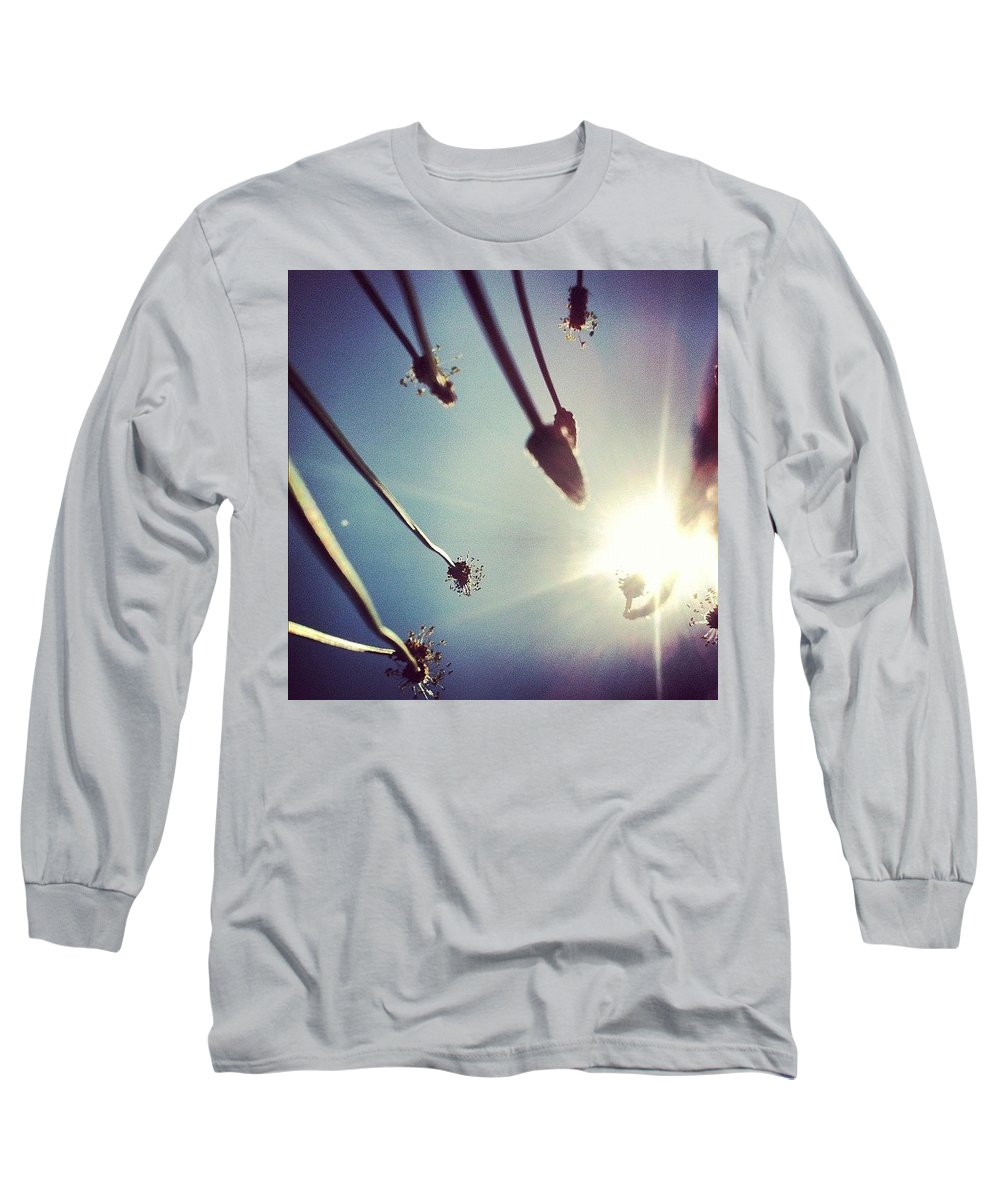 Hot Long Sleeve T-Shirt featuring the photograph Dandy Lion by Katie Cupcakes